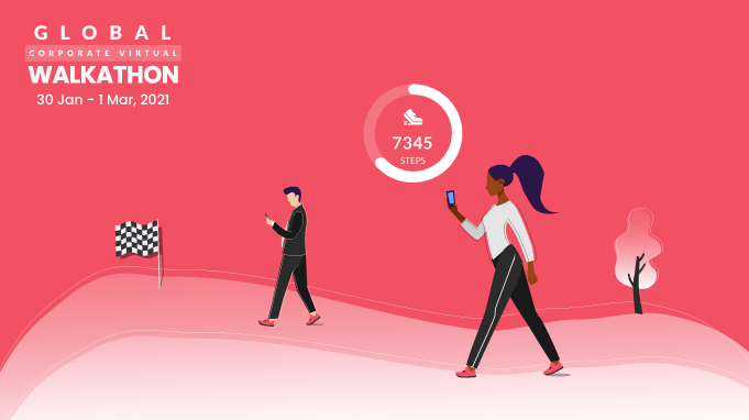 All About The Global Corporate Virtual Walkathon 2021